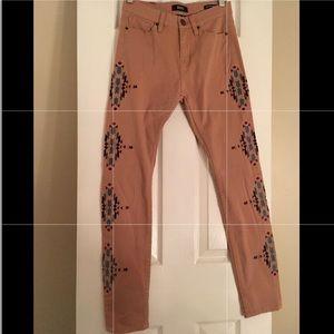 Urban Outfitter BDG Skinny Hi Waist Tribal Jean 26